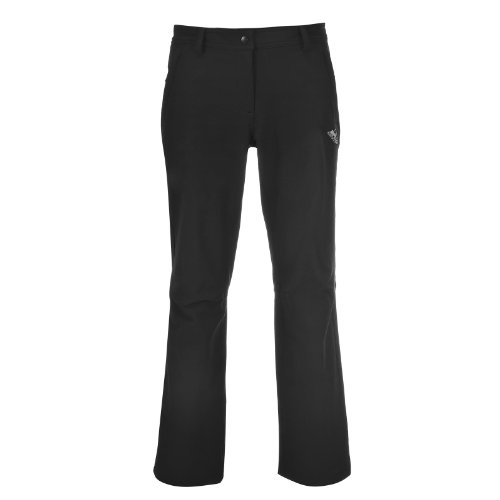 hundeinfo24.de COX SWAIN Damen Soft Shell Outdoor Trekking Hose BALTIC, Colour: Black, Size: M