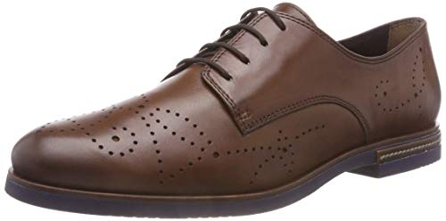 Tamaris Damen 23208-31 Oxfords, Braun (Cognac 305), 38 EU