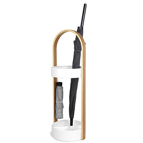 Stockage debout Porte-parapluie ménage parapluie baril bureau salon parapluie support rack de stockage (Couleur : Blanc)