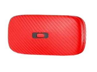 Oakley Brillentasche rot Einheitsgröße -