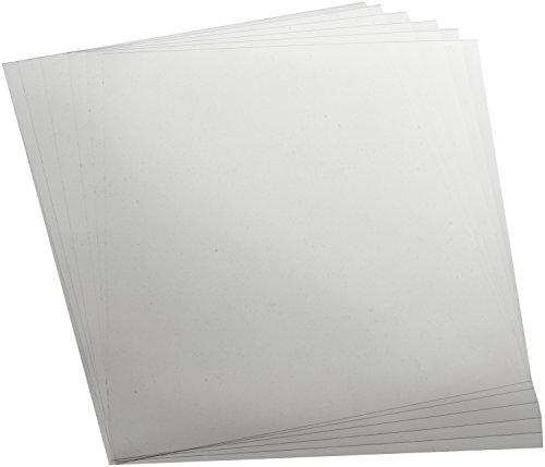 Folia 440350/5 - Mobilefolie transparent, 0,4 mm, 35 x 50 cm, 5 Bogen