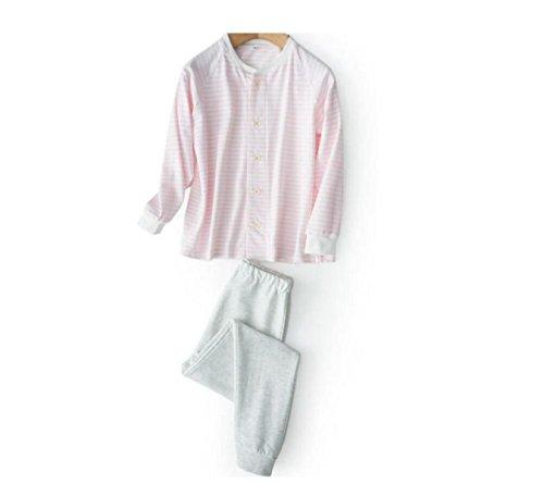 GSHGA BABY Casual / Tägliche Fest Nachtwäsche Baumwolle Kinderkleidung Anzüge Sport Home-Service 110-140,Pink-110 (Pink Kitty Kostüm)