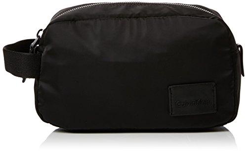 Preisvergleich Produktbild Calvin Klein Herren Ease Washbag Taschenorganizer,  Schwarz (Black),  12x14x24 cm