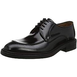 Lottusse L6711, Zapatos de Cordones Derby para Hombre, Jocker P. Negro, 42 EU
