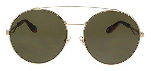 Givenchy gv 7048/s 70 j5g, occhiali da sole donna, oro (gold/brown), 62