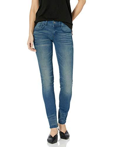 G-STAR RAW Damen Lynn Mid Waist Skinny' Jeans, Blau (medium Aged 6550-071), 31W / 32L