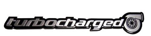 Turbo TURBOCHARGED Aluminum Emblem Badge for Honda Civic Si Acura NSX TSX RDX RSX Type-S Subaru Impreza WRX Mazda Mazdaspeed 3 6 Nissan Sentra SER 300ZX 350Z Datsun 280ZX 280Z (Honda Rsx Emblem)