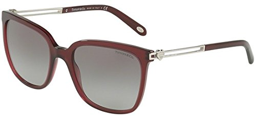 Tiffany & Co. Damen 0TY4138 80033C 54 Sonnenbrille, Rot (Opal Dark Cherry/Graygradient),