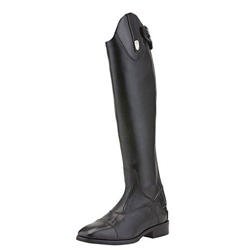 Ariat Reitstiefel MONACO TALL STRETCH ZIP | Farbe: Black/Black Patent | Größe: 6,5 (40) | Schaftform: Medium-Slim -