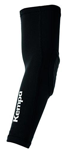 Kempa Persönliche Schutzausrüstung ARM SLEEVE Ellbogenschoner, schwarz/Weiß, M/L (Ellbogenschoner Für Den Sport)