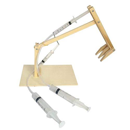 0Miaxudh Bagger Spielzeug Set, DIY luftdruck kolben Bagger Set, Kids Science Experiment Modell Puzzle Spielzeug