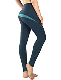 New Mincc Leggings de Sport pour Femme Pantalon Yoga Fitness Minceur Long  avec Poches Basique élastique 509c927e95a