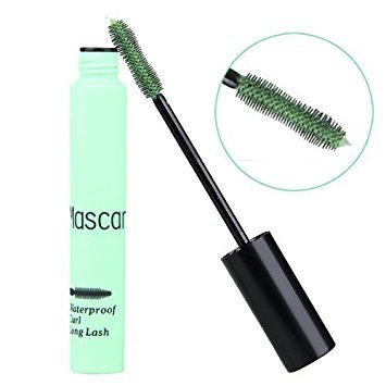 SODIAL(R) Mascara mascara des yeux Cosmetique prolongation impermeable Maquillage vert cosplay.