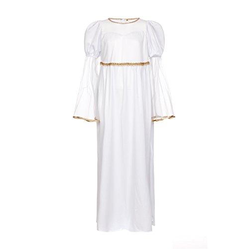 Kostümplanet® Engel-Kostüm Mädchen 128 Kinder Kostüm Fasching (Engel Kleid Mädchen)