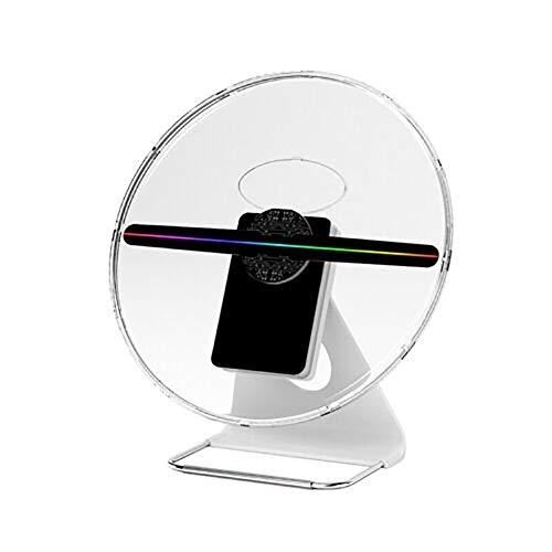 Proyector holográfico de la Pantalla del proyector del Ventilador del Holograma de la Publicidad de Rechargea 3D