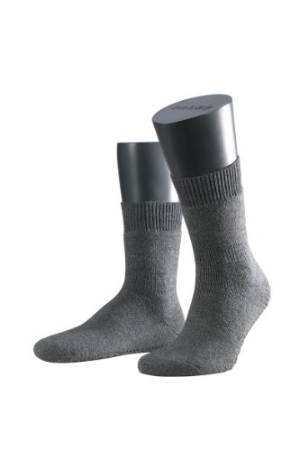 FALKE Unisex-Socken 16500 Homepads, Gr. 47/ 50 Grau (anthra. mel 3180)