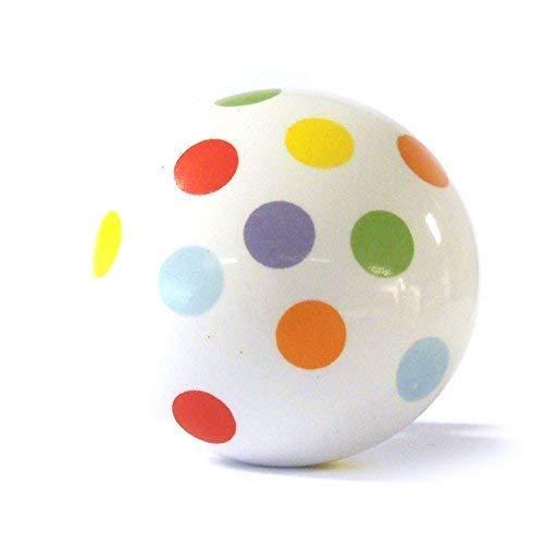 Groß multifarben gepunktet keramik küchenschrank tür griff schublade griff schrankgriff gepunktet shabby chic