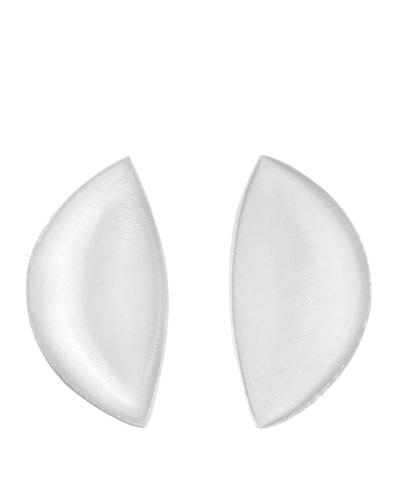 Sodacoda Silikon BH Einlagen 180g/Paar - Sichelförmige Push-Up Brust-Einlagen für BH, Badeanzug und Bikini - Transparent -
