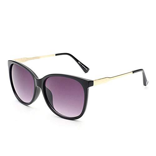 ZHOUYF Sonnenbrille Fahrerbrille Übergroße Sonnenbrille Der Weiblichen Sonnenbrille Retro- Sonnenbrille Im Freien, A