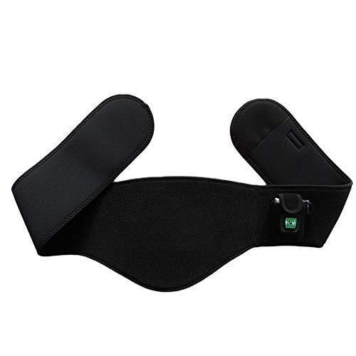 Yves25Tate Wärmegürtel Heizgürtel, USB Nierenwärmer Heizkissen, für Rücken & Nieren, für Männer und Frauen Lindern Rückenschmerzen Bauchschmerzen