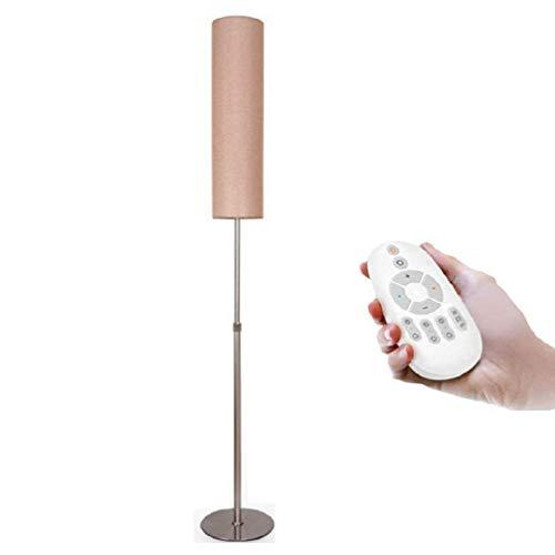 ZHLIANG Lampe de Sol IKEA, métal créativité Classique Designer lampadaire (crème-Blanc Ombre) pour Salon, Chambre à Coucher ou Bureau, [Energy Class A + + +],numbshade