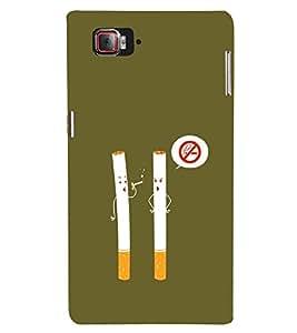 EPICCASE No Smoking Mobile Back Case Cover For Lenovo Vibe Z2 Pro K920 (Designer Case)