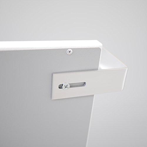 VASNER Aluminium Handtuchhalter  Handtuchwärmer Set  Infrarotheizungen Citara Glas Metall Bild 2*