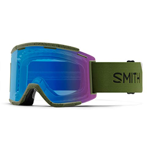Smith Squad MTB XL Mountainbike-Brille Einheitsgröße Moss/Chromapop Contrast Rose Flash