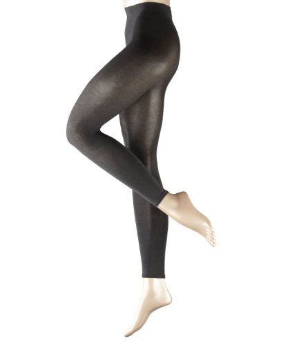 (FALKE Damen Leggings 40084 Cotton Touch LE, Gr. 48/50 Grau)