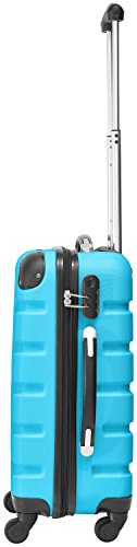 Packenger Marina suitcase, trolley, hard case, M in blue. 54x38x22cm - 2