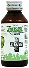 Adusol Cough Syrup 100 ml(Pack 4) free sample malshuddhi vati