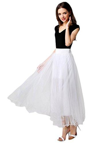 Petticoat 50er Jahre von Honeystore, Retro-Faltenrock perfekt zu Strick und Heels oder Sneakers, Unterrock für Hochzeit und Party One Size (Disney Klassische Kostüme Cinderella Erwachsene)