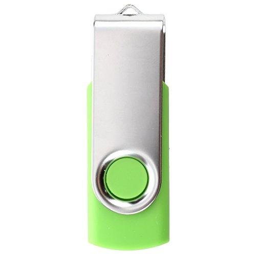 TOOGOO(R)USB 3.0 Memory Stick faltbares Flash Laufwerk Memory Stick Speicher mit drehbarem Clip 32GB – Gruen - 3