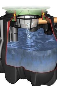 Platin Ausbaupaket 2 DN100 Regenwassertank Platin GRAF 342026