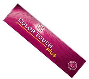 Wella Color Touch Plus 66/07-Intense Dark Natural Brunette Blonde Semi-permanenten Hair Colour/Tint 60ml Tubes
