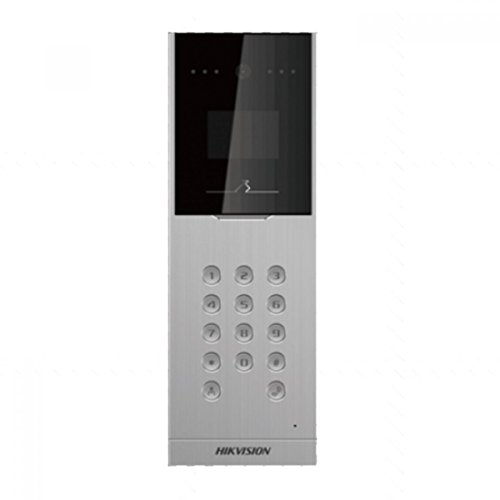 HIK469 - HIKVISION DS-KD8002-VM OUTDOOR VIDEO INTERCOM DOOR STATION, 1.3MP CAMERA, TOUCH BUTTONS, H.264 & IP65 W/ 2YR WARRANTY