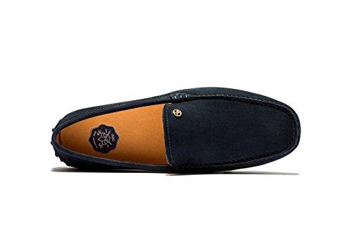 Chaussures Bateau Mode Mocassins Mixte Adulte Bleu