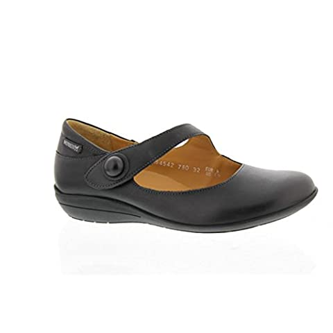 Mephisto , Chaussures de ville à lacets pour femme - Noir - Noir, 39 EU