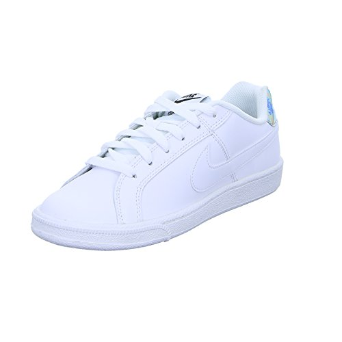 Nike Court Royale, Zapatillas para Mujer, Blanco (White/Metallic Silver), 42 EU