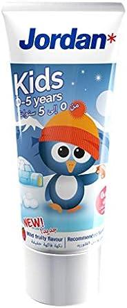 Jordan Kids Toothpaste, 0-5 Years, 50ml ' 1 U