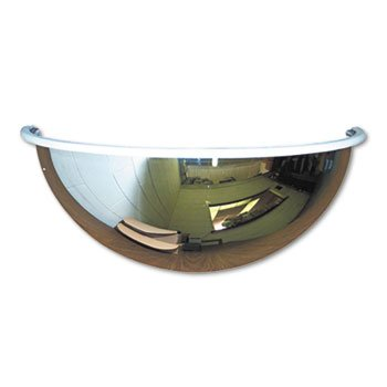 HALF DE DOME CONVEX SECURITY MIRROR  18 DIA   SOLD AS 1 EACH
