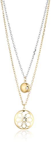 Tommy Hilfiger Casual Core Damen Halskette Edelstahl Vergoldet 49,5 cm
