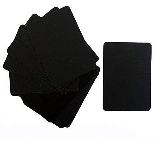 79b301446d HAND ® Lot de 15 mini tableaux pour affichage sur lesquels écrire à la  craie 7
