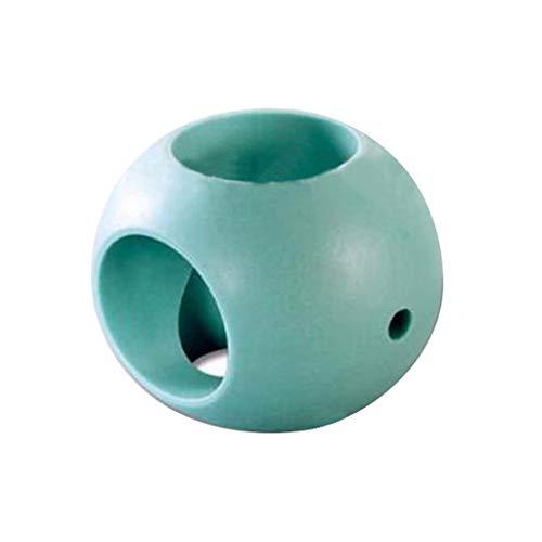 Magnetische Waschkugel Wäschekugel, routinfly für Waschmaschine und/oder Spülmittel Reinigungsmittel Reines Wasser (Grün, 6CM)