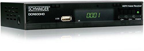 Schwaiger DCR600 FTA Full HD Kabel-Receiver