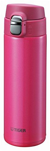 Tiger Water Bottle Stainless Steel Mini-Bottle Saharamagu Lightweight (Dream Gravity) Rosa 0.48l mmj-a048-pa