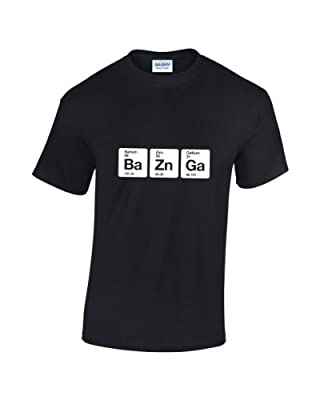 The Big Bang Theory Bazinga Elements Geek T-shirt pour homme