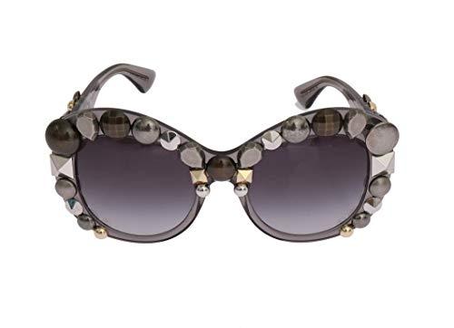 Dolce & Gabbana - Damen Sonnenbrille - Women Sunglasses - Gray Butterfly GOLD EDITION Sunglasses