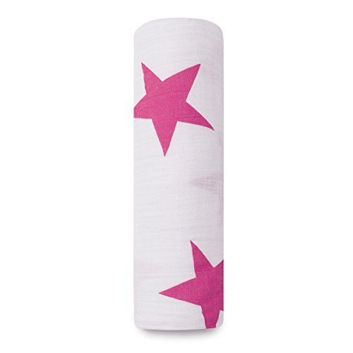 aden + anais 8900G Classic Single Swaddle, twinkle pink