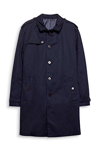 ESPRIT Collection Herren Mantel 028EO2G003, Blau (Navy 400), Small (Herstellergröße: 46) - 3